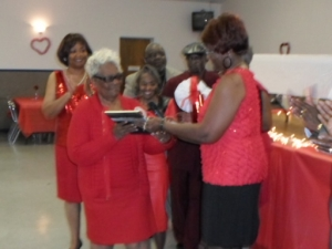 Mrs. Johnson receives Award February 2013
