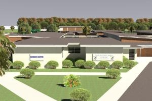 Rendering of Emma Jewel Charter School