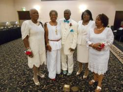 Constance, Shirley, Austell, Connie and Marsha